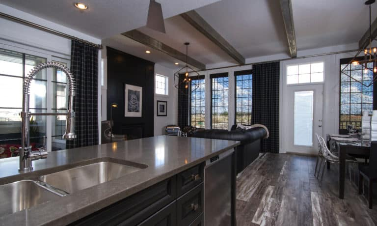 Garry Station Lethbridge Showhome Kitchen