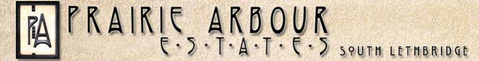 Prairie Arbour Estates Logo