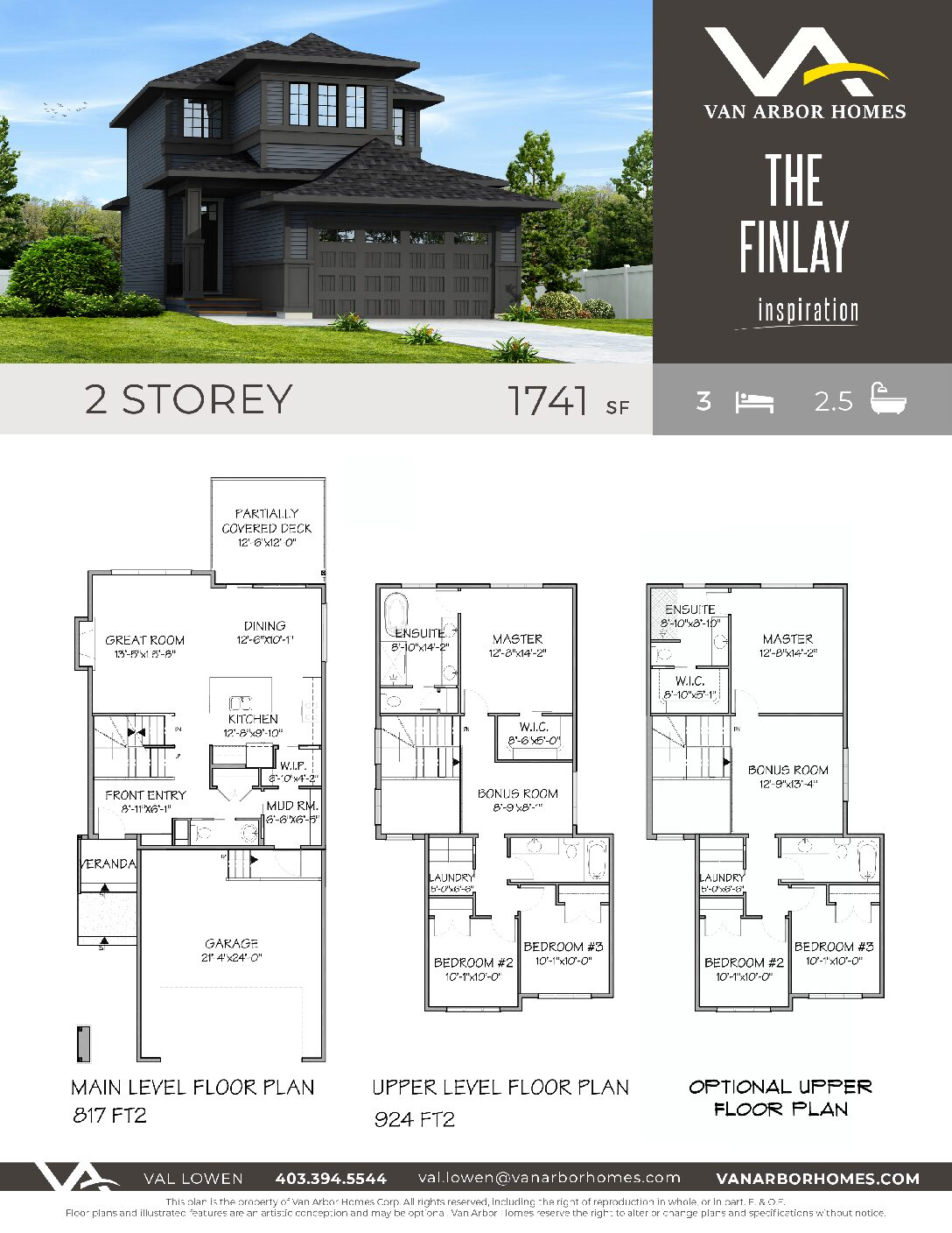 805 Atlantic Cove – The Finlay