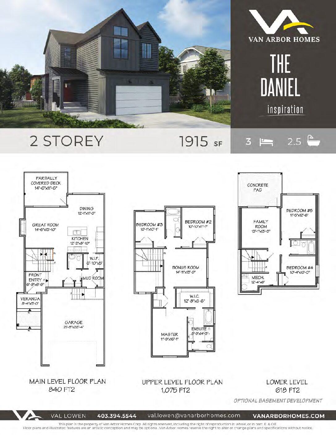 The Daniel – 1133 Abitibi Road, West